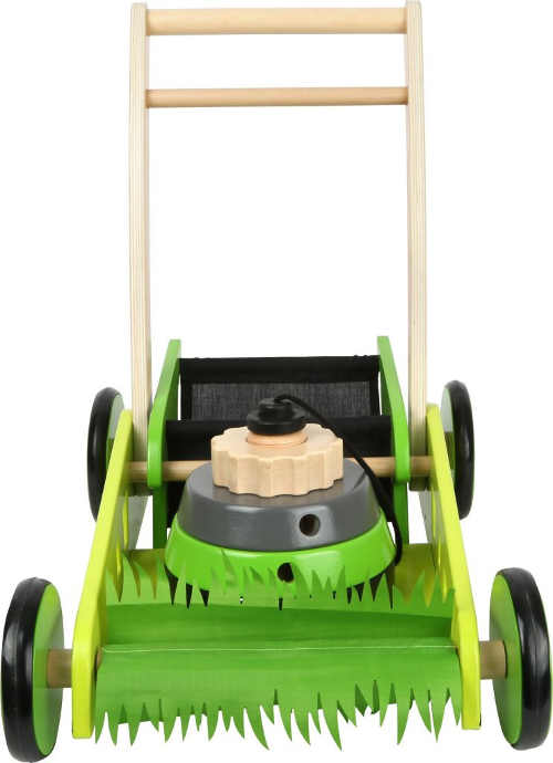Velká dřevěná sekačka na trávu pro děti