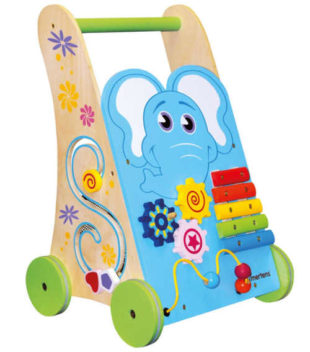 Chodítko Mertens s barevným sloníkem