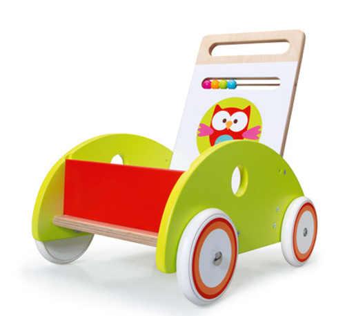 Chodítko pro nejmenší vozík sovička