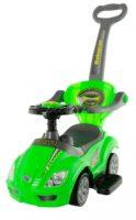 Zelené odstrkovadlo Euro Baby AUTO 3v1