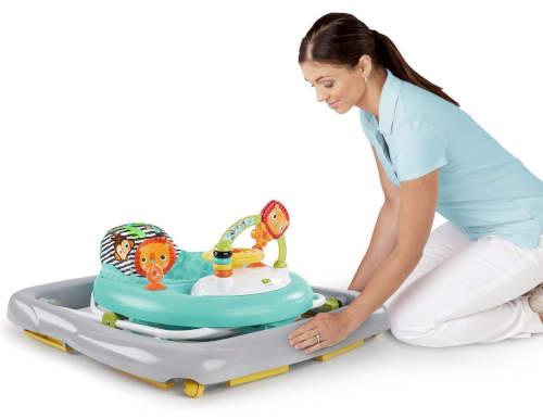 Skládací dětské chodítko snadno uklidíte