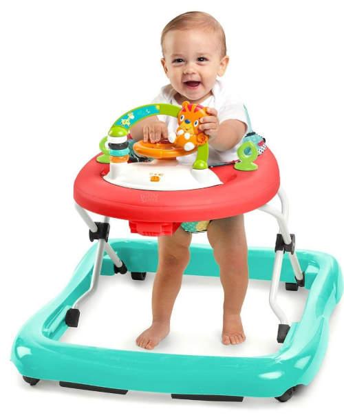 Dětské chodítko s pultíkem na hračky