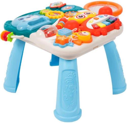 Dětský hrací plastový interaktivní stolek