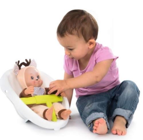 Součástí chodítka je i sedačka pro panenky
