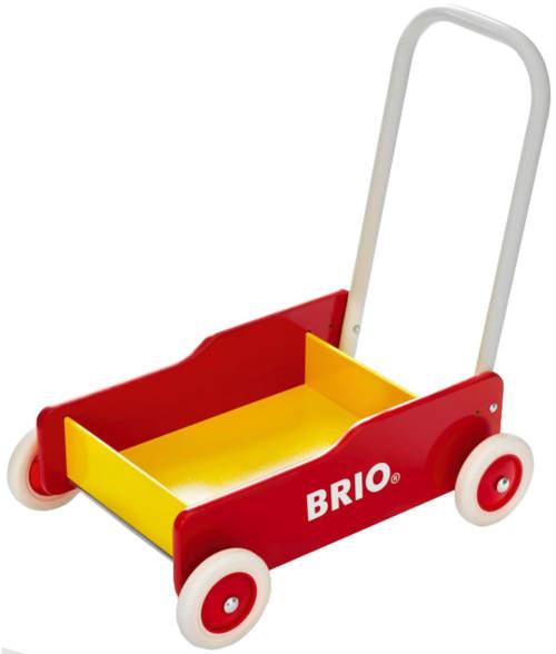 Vozíček Brio pomáhá dětem zvládnout chůzí