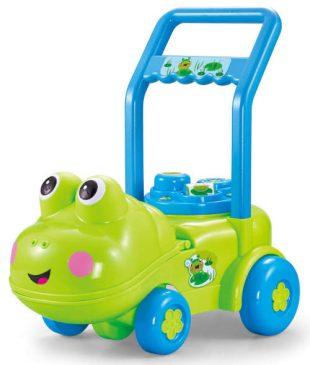 Roztomilé dětské chodítko Žabka